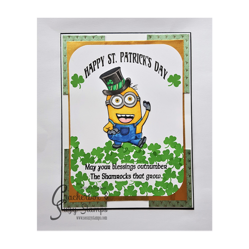 St. Pat's Day with Minion