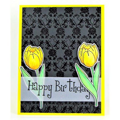 Happy Birthday 2 Tulips