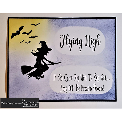 Witch Flying High