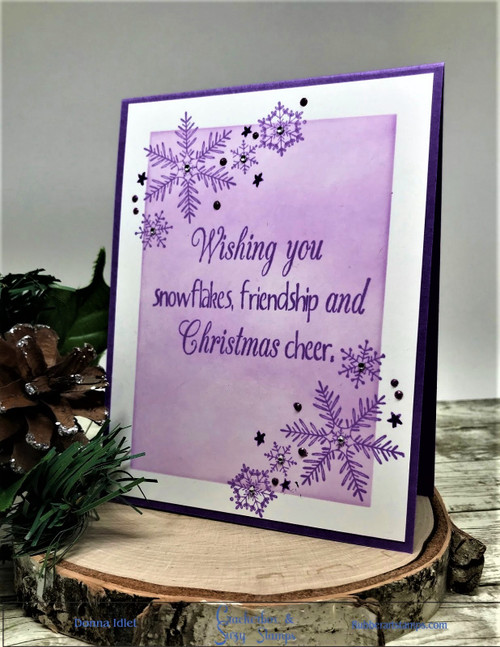 Wishing You Snowflakes and Friendship