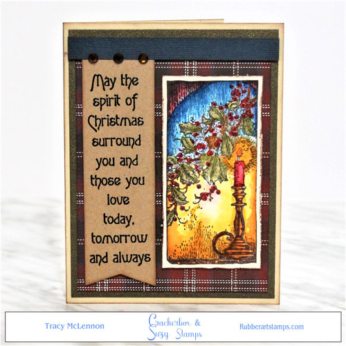 Holly and Candle:  https://rubberartstamps.com/holly-and-candle/?aff=21 Spirit of Christmas:  https://rubberartstamps.com/sprit-of-christmas/?aff=21