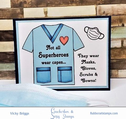 Not All Superheroes  Card