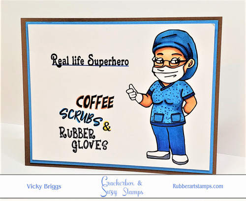 Coffee, Scrubs and Gloves with Nurse