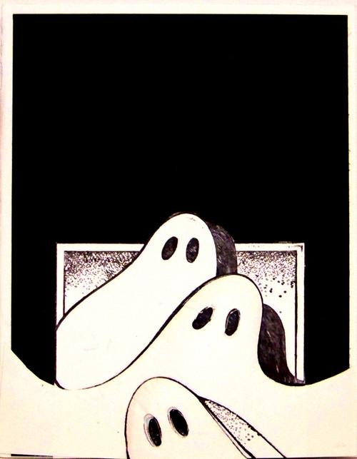 Ghost Trio Card