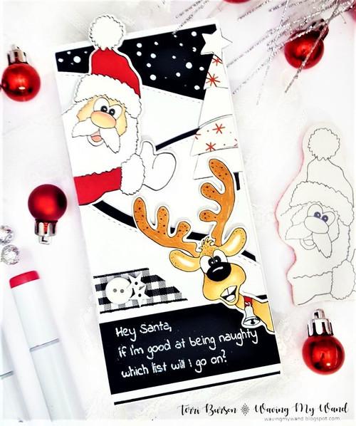 Hey Santa With Santa