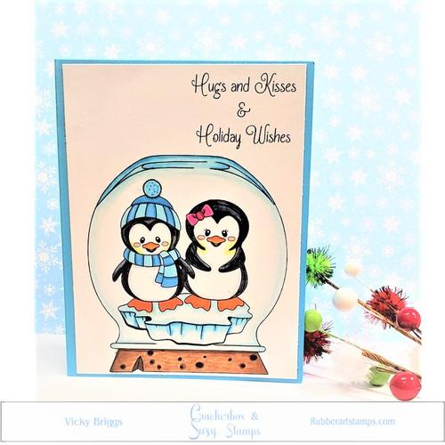 Penguin Hugs and Kisses