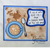 Coffee Cup Top View Heart and Hello set of 2