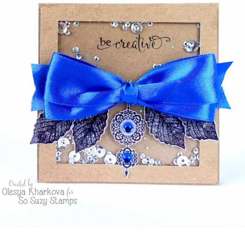Be Creative Shaker card by Olesya