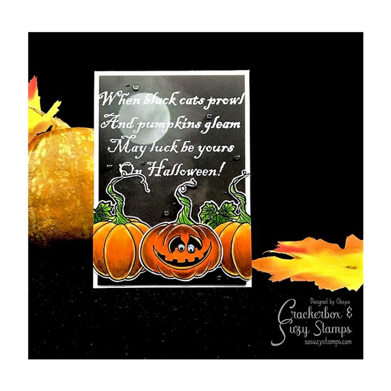 On Halloween Pumpkins