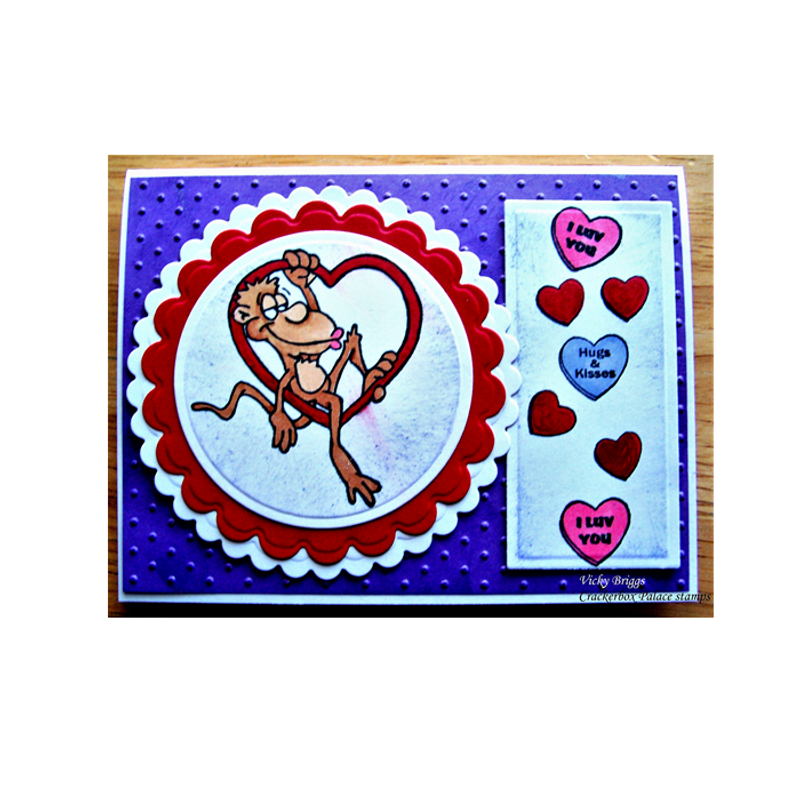 Monkey and Hearts