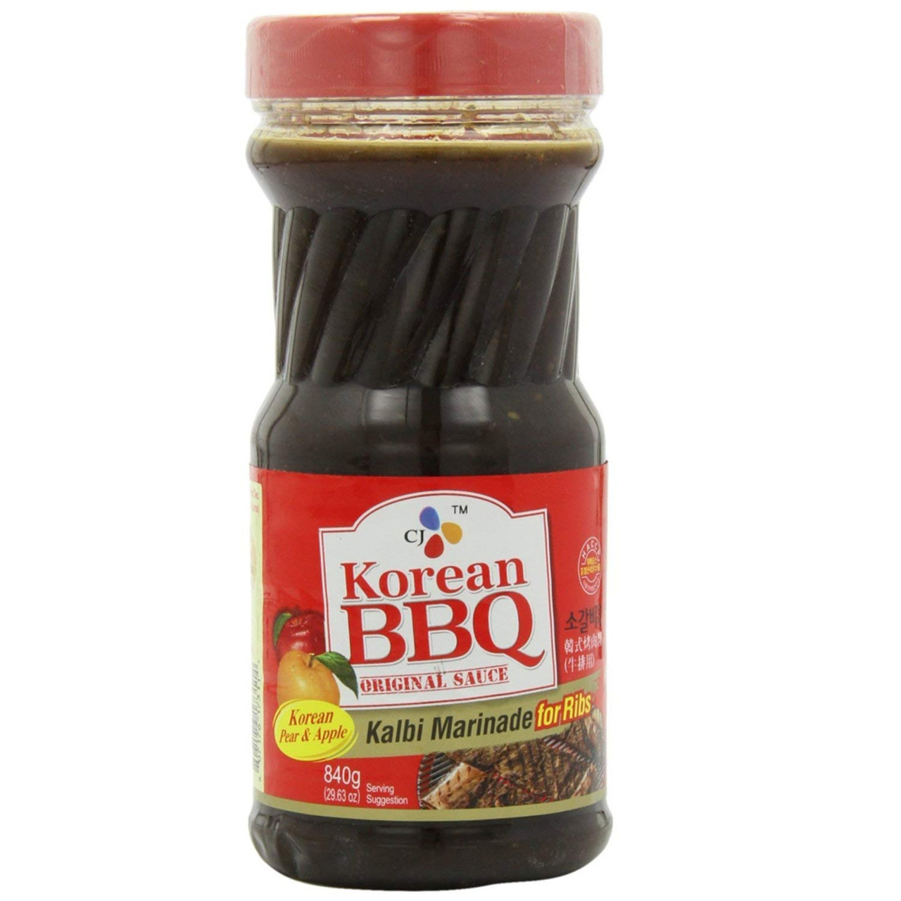 Cj Korean Bbq Kalbi Marinade Sauce For Ribs 29 63oz Wynmarket Com