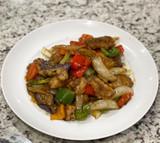 Black Pepper Sauce with Swai Basa Fish