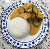 How To Make Thai Chicken Red Curry in 15 Minutes - Easy & Quick Recipe - No Bullshit Writing