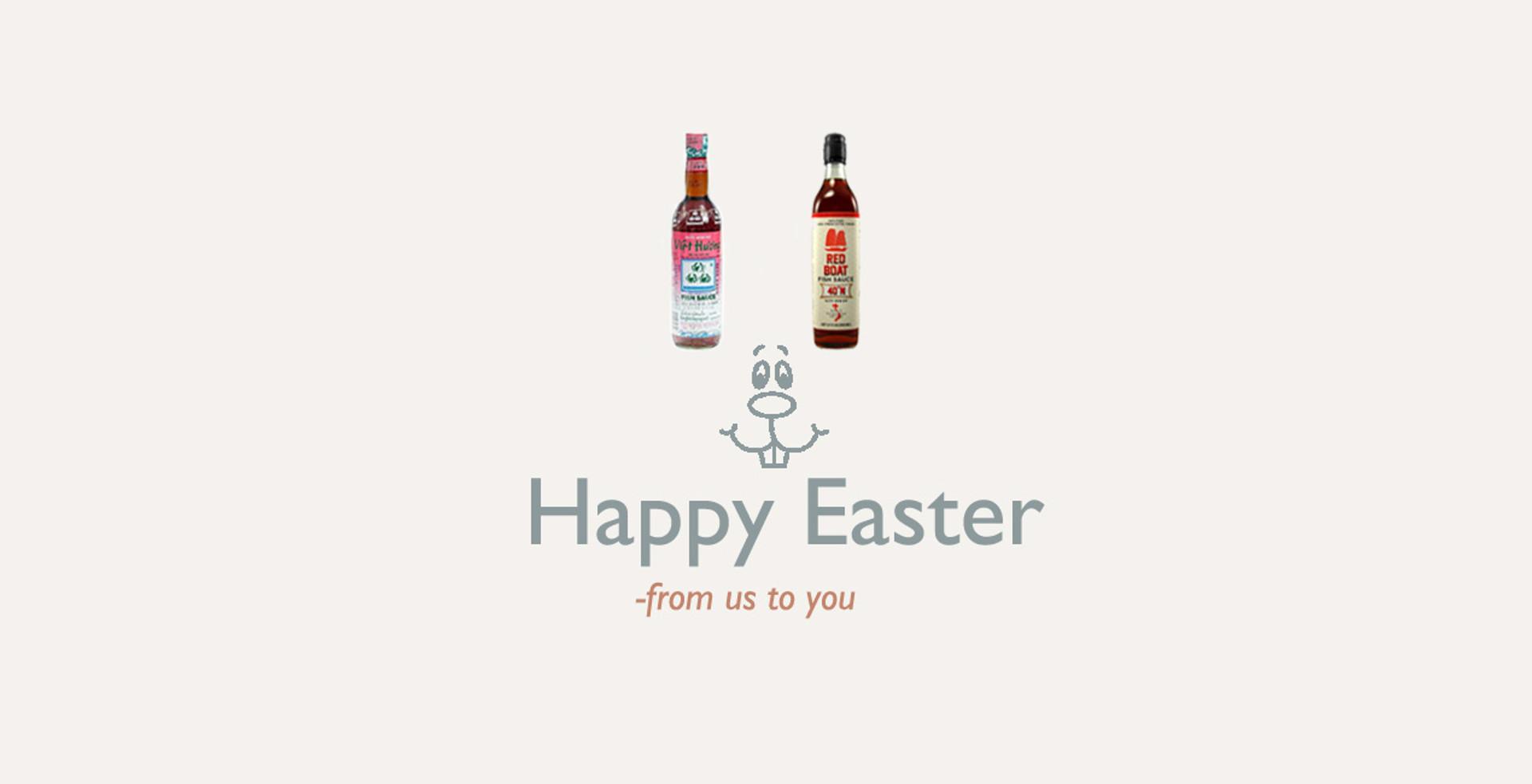 Easter Bunny  Fish Sauce