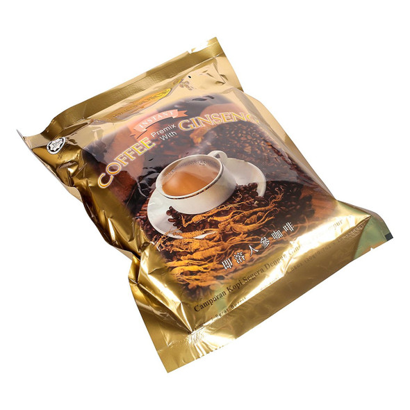 Gold Choice Instant Premix Coffee with Ginseng Bag