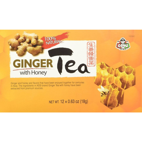 Instant Ginger Tea with Honey Teabags