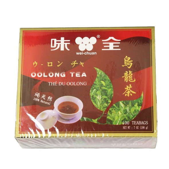 Wei-Chuan Chinese Oolong Tea, 100 Teabags