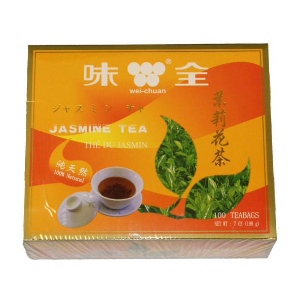 Wei-Chuan Chinese Jasmine Tea, 100 Teabags