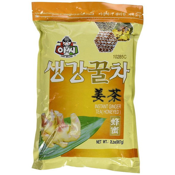 Assi Loose Instant Ginger Tea with Honey, 2lbs