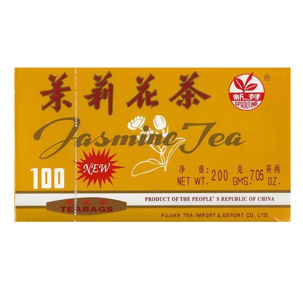 Sprouting Jasmine Tea, 100 teabags