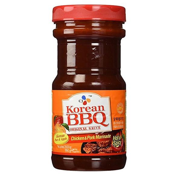 cj korean bbq chicken pork marinade sauce
