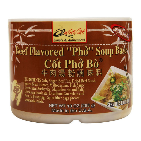 Quoc Viet Beef Flavored Pho Soup Base,
