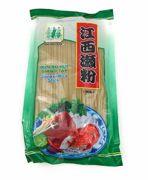 Bun Bo Hue Ba Co Gia - Three Ladies Brand Rice Stick Noodles