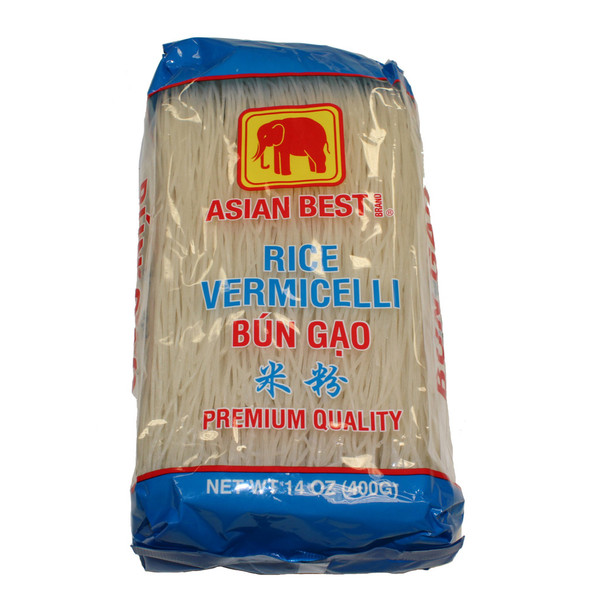 Asian Best Premium Rice Vermicelli Bun Gao, 14oz