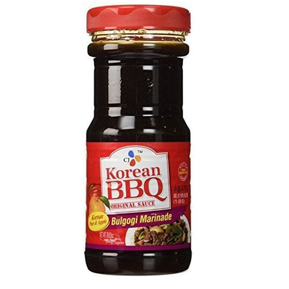 CJ Bulgogi Marinade Korean BBQ Sauce, 29.63 fl oz