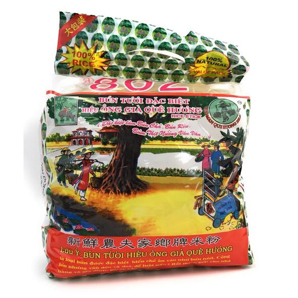 Bun Rice Vermicelli 802 Oldman Que Huong Brand