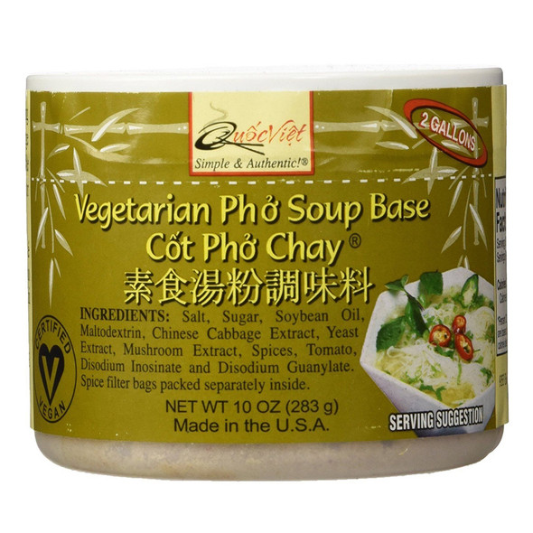 Cot Pho Chay Vegetarian Pho Soup Base