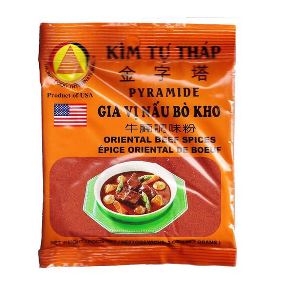 Kim Tu Thap Pyramide Vietnamese Beef Stew Seasoning, 2oz