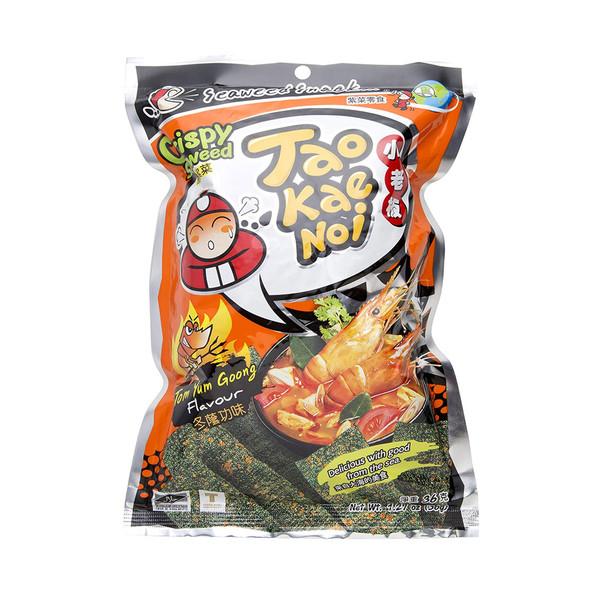 Tom Yum Hot Spicy Crispy Seaweed Snack Taokaenoi