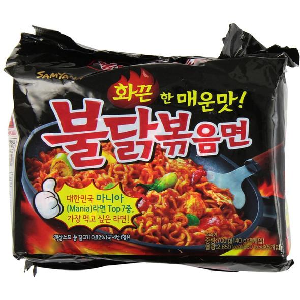 Korean Spicy Ramen Chicken Flavor