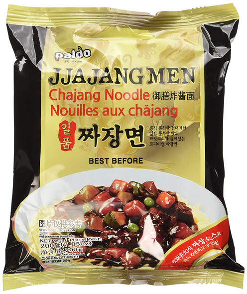 Paldo Jjajangmen Chajang Vegan Instant Noodle