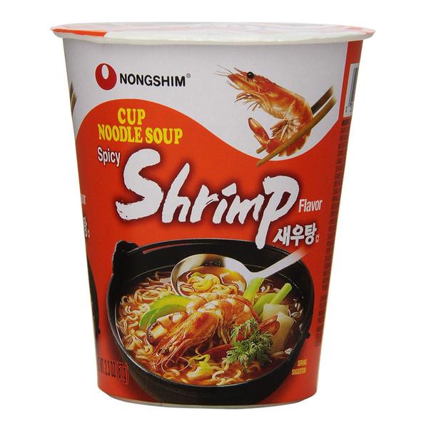 Nongshim Instant Cup Noodle Shrimp Flavor