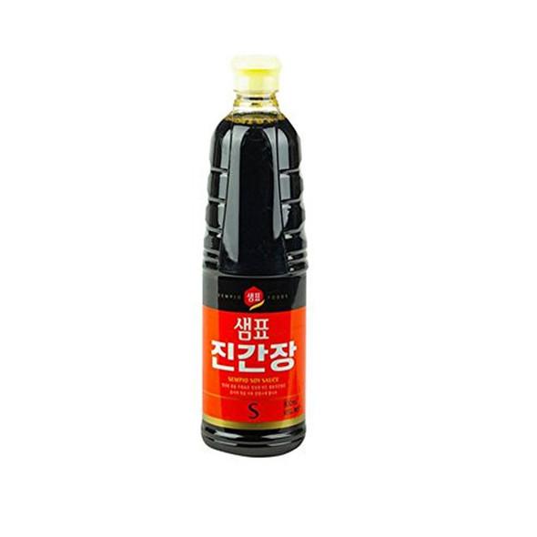 Sempio Korea Soy Sauce Jin S, 31.4 fl oz