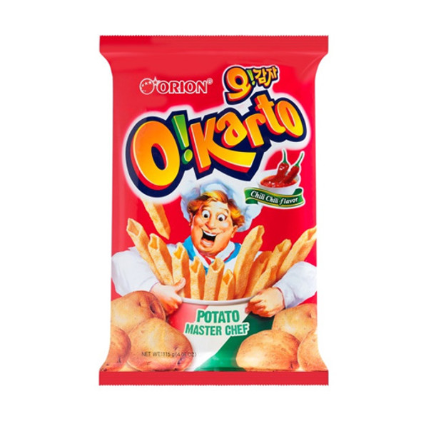 Orion Okarto Korean Potato Chips- Italian Chili Flavor Snack