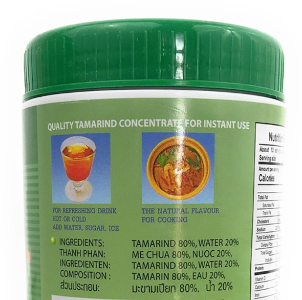 Double Seashore Tamarind Concentrate Mix, 14 oz