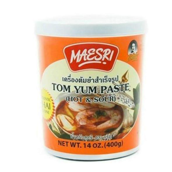 Maesri Hot and Sour Tom Yum Paste, 14oz