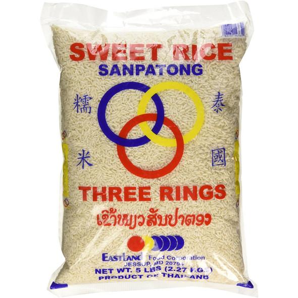 Three Rings Sweet Rice (Sanpatong) - Nep