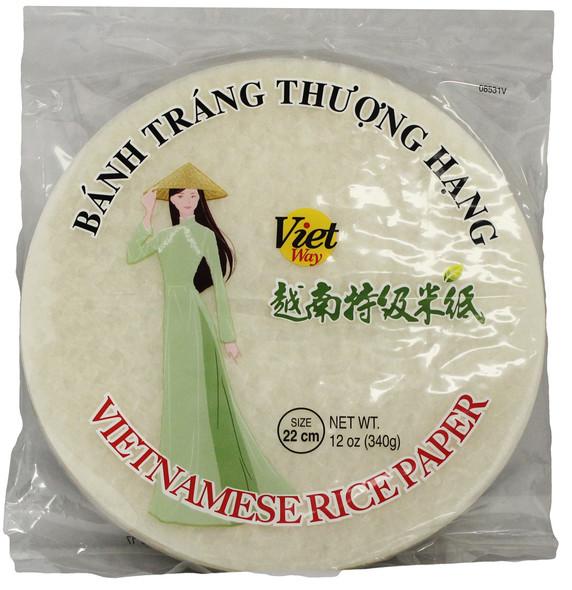 Viet way Vietnamese Spring Roll Rice Paper - Banh Trang