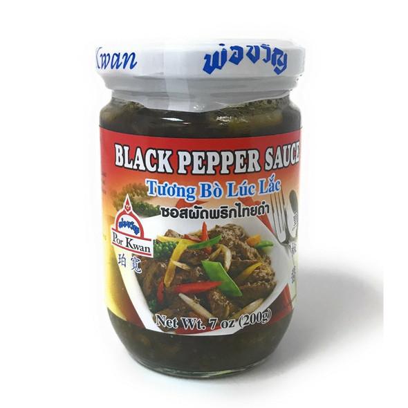 Por Kwan Black Pepper Sauce - Tuong Bo Luc Lac