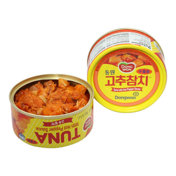 Dongwon Tuna with Hot Pepper Sauce - 5.3oz (4 cans)