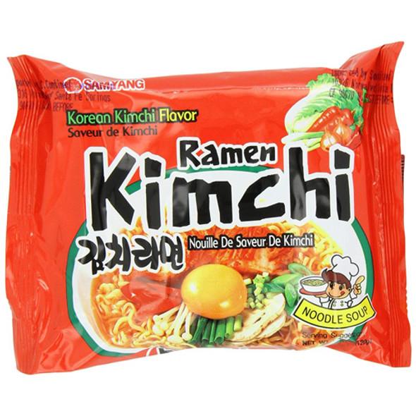 Samyang Kimchi Flavor Ramen Noodle Soups