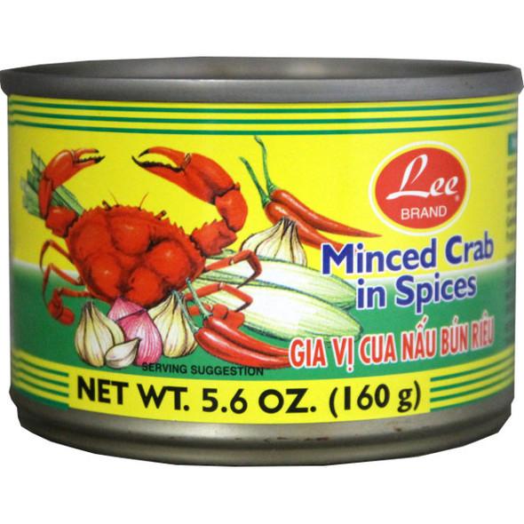 Lee Brand Minced Crab in Spice Gia Vi Nau Bun Rieu