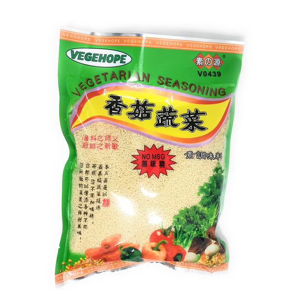 Vegehope Vegetarian NO MSG Granulated Seasoning