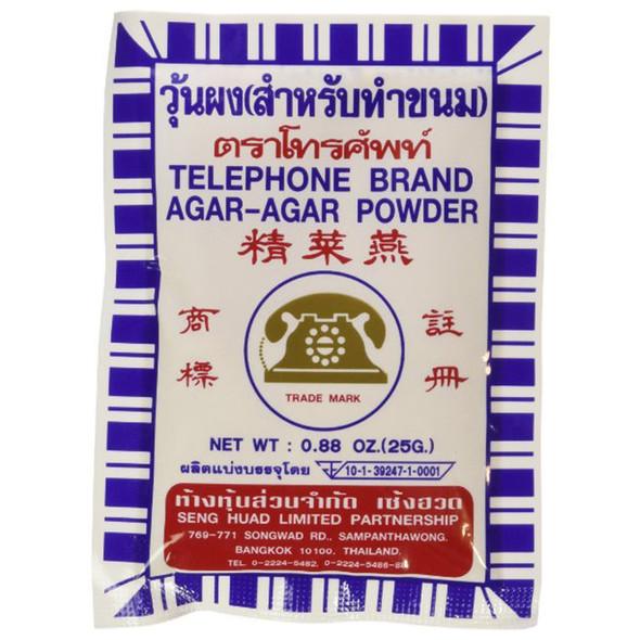 Telephone Brand Agar Agar Gelatin Powder