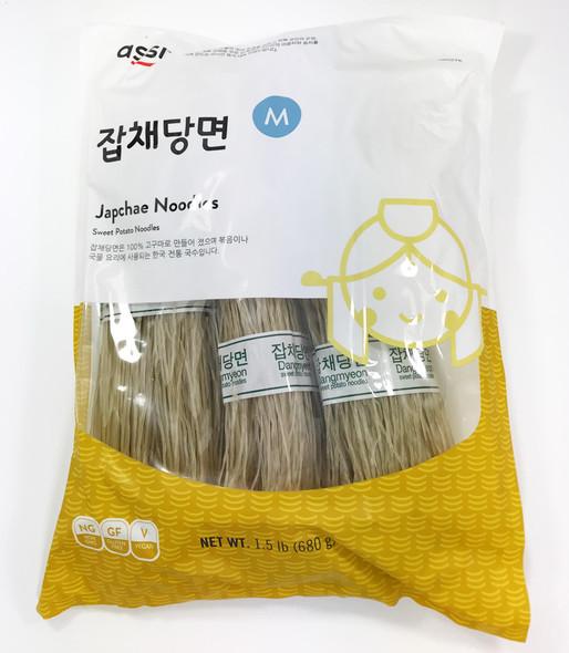 Assi Dangmyeon Sweet Potato Japchae Glass Noodle 1.5lb