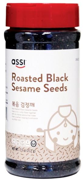 Assi Roasted Black Sesame Seeds, 7.5oz